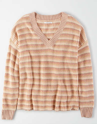 AE V-Neck Oversized Sweater