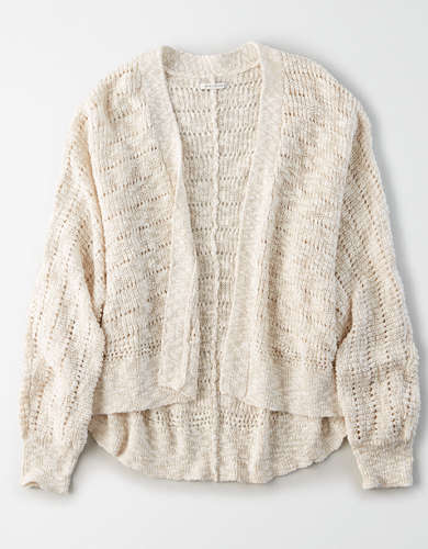 AE Cropped Cardigan
