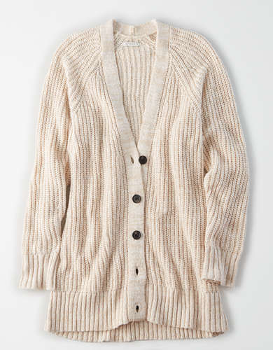 AE Oversized Button Up Cardigan