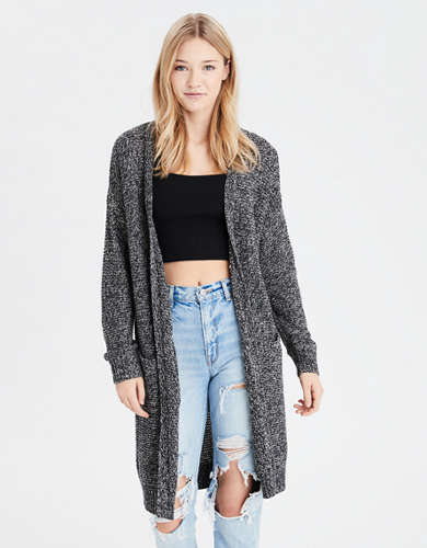 Cardigan long AE