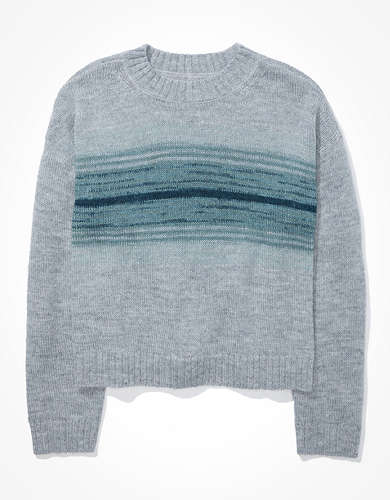 AE Dreamspun Cropped Crew Neck Sweater
