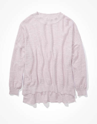 AE Oversized Crew Neck Sweater