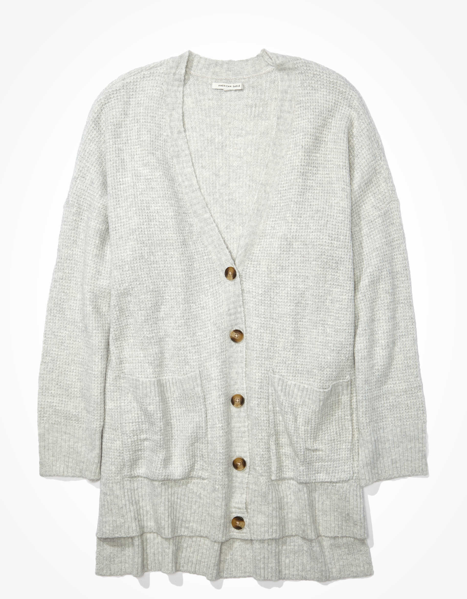 AE Oversized Dreamspun Button Up Cardigan