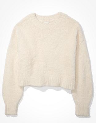 AE Cropped Eyelash Sweater