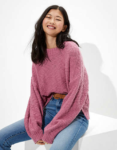 AE Slouchy Crew Neck Sweater