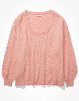 AE Oversized Scoop Neck Sweater