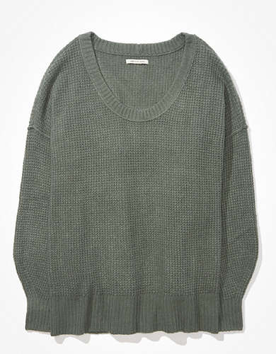 AE Oversized Scoop Neck Sweater