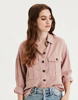 AE Button Down Work Wear Shirt