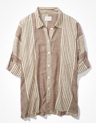 חולצת חוף אוברסייז אמריקן איגל