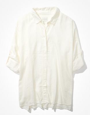 Пляжная рубашка оверсайз AE