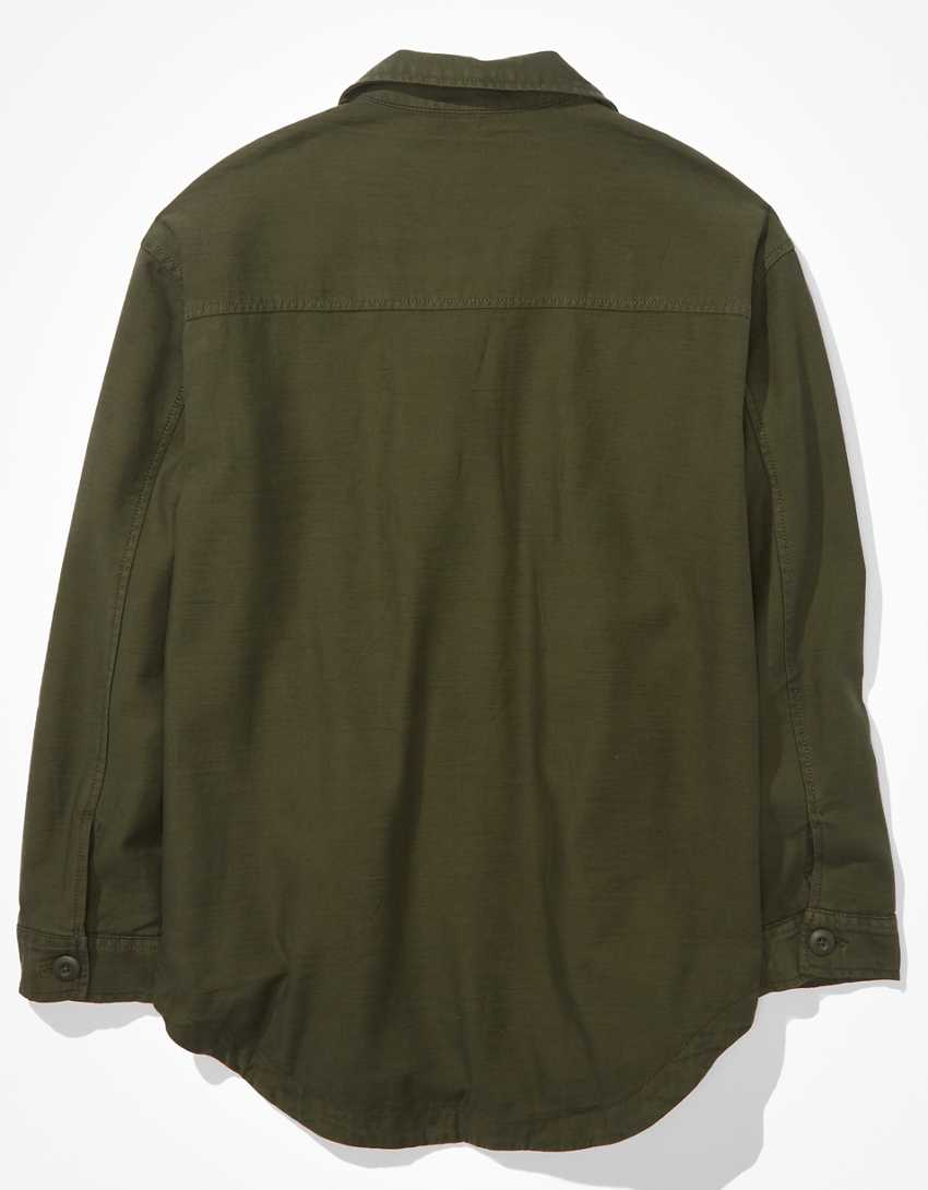 AE Military Shacket