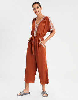 8ec1aa4f96d ae-embroidered-kimono-jumpsuit by american-eagle-outfitters