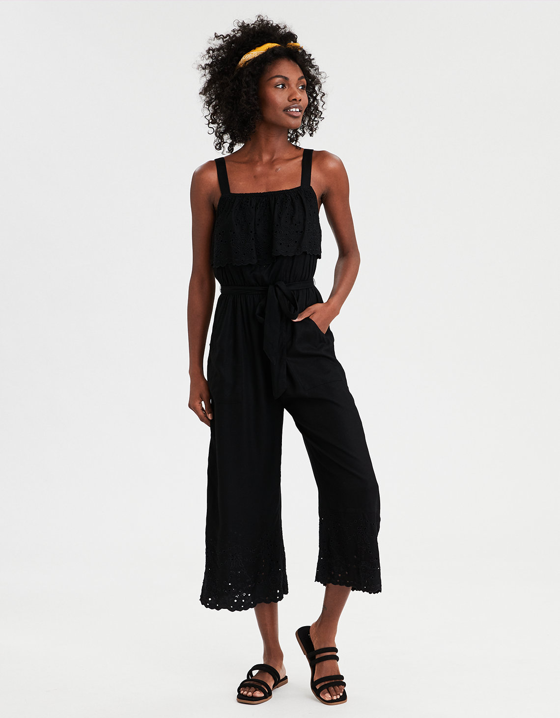 3982dcf6556 AE Overlay Schifflie Jumpsuit. Placeholder image. Product Image