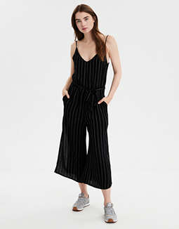 AE Easy Striped Jumpsuit
