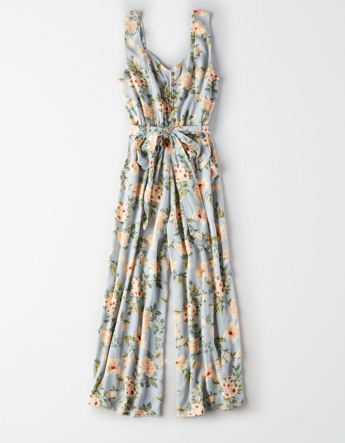 e0599b8d69 AE Floral Culotte Jumpsuit