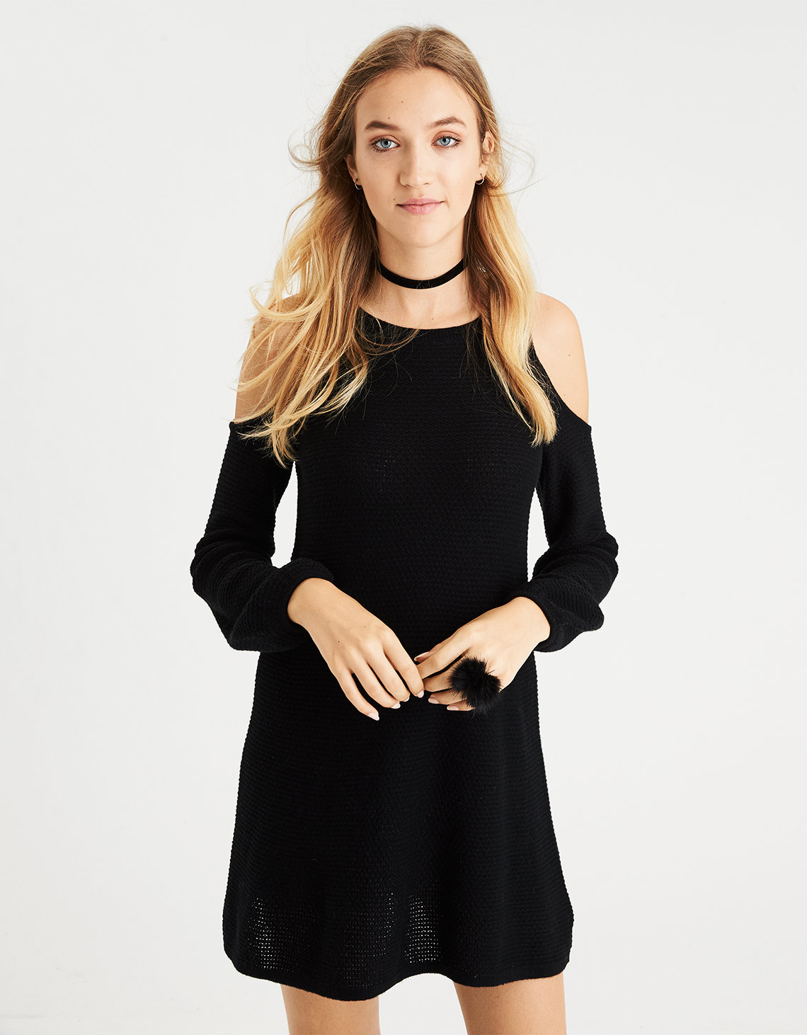 Cotton Sweater Dress | American Eagle Outfitters