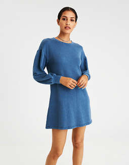 Ae Puff Sleeve Dress by American Eagle Outfitters