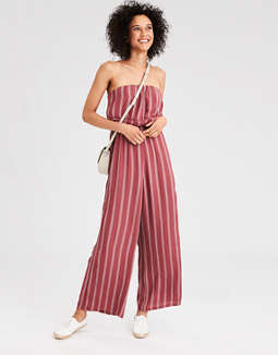 3396db882fd ae-striped-overlay-jumpsuit by american-eagle-outfitters