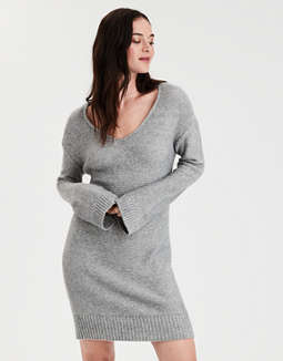 AE Tie Back Sweater Dress