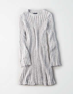 Ae Chenille Ribbed Sweater Dress by American Eagle Outfitters