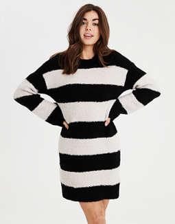 Ae Rugby Stripe Sweater Dress by American Eagle Outfitters
