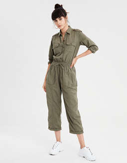 Ae Workwear Jumpsuit by American Eagle Outfitters
