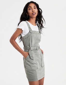 Ae Utility Dress Overall by American Eagle Outfitters
