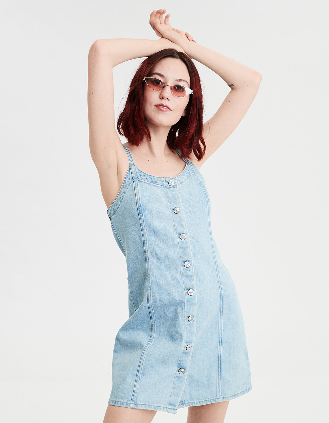7eaccfd551 AE Denim Slip Dress. Placeholder image. Product Image