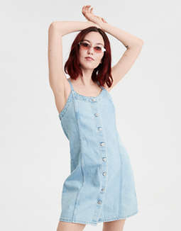 AE Denim Slip Dress