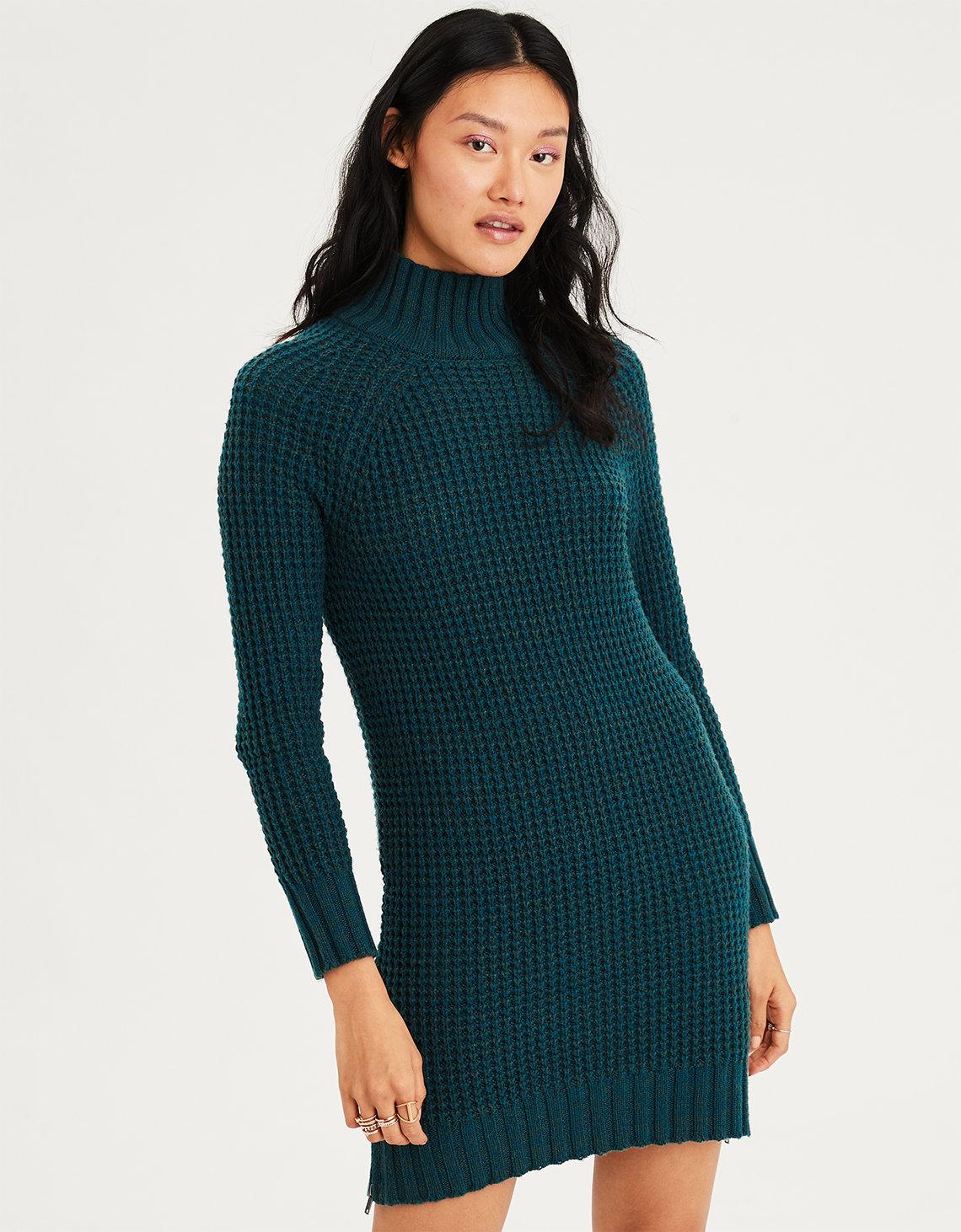 Fashion week Sweater Neck dress for girls