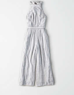 06fee71d3d3 Ae Striped Jumpsuit by American Eagle Outfitters