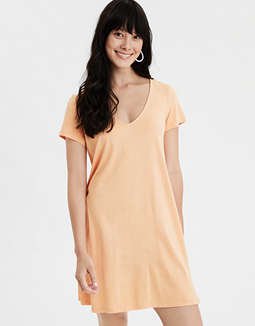 AE V-Neck T-Shirt Dress