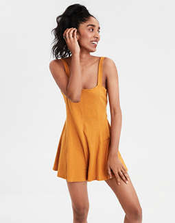 AE Knit Cut Out Back Romper