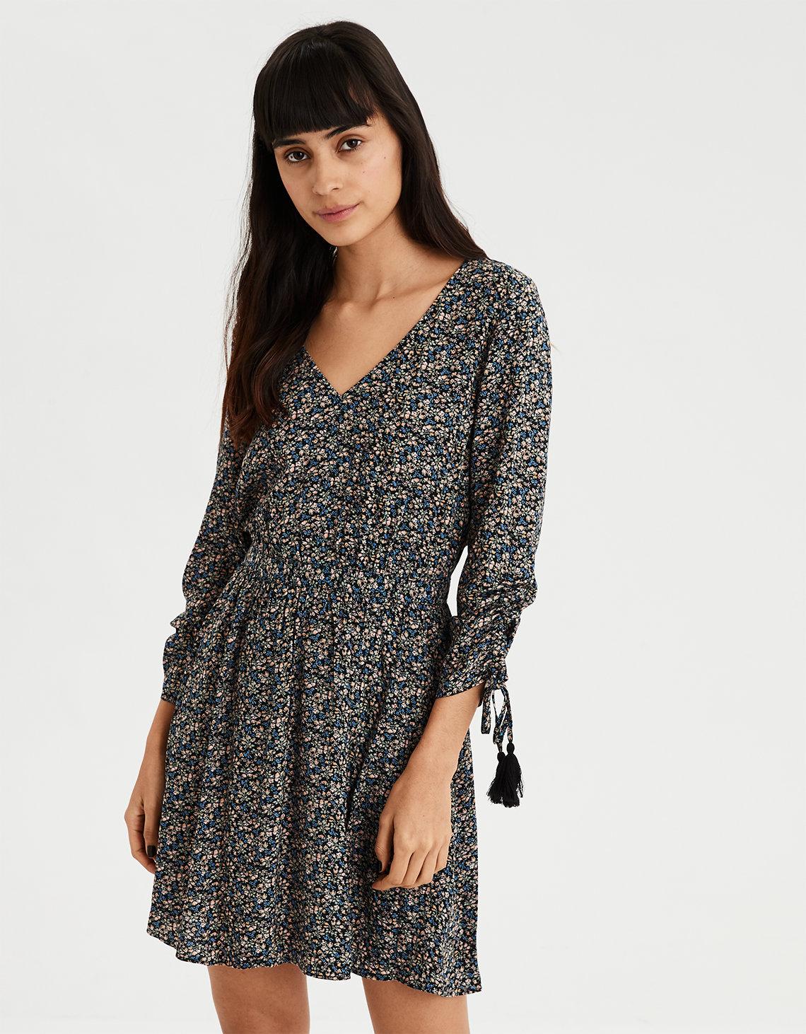 da7f60845c6 AE V-Neck Shift Dress. Placeholder image. Product Image