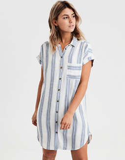 AE Short Sleeve Shirt Dress