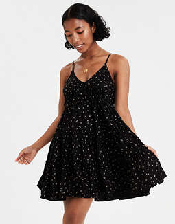 AE Tiered Babydoll Dress