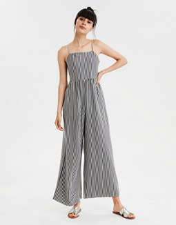 AE Striped Knit Jumpsuit