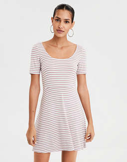 AE Knit Fit and Flare Dress