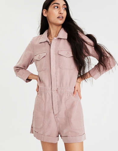 AE Long Sleeve Workwear Romper