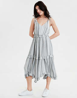 AE Ruffle Midi Dress