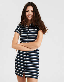 AE Knit Polo Dress