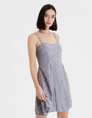 Ae Print Mix Corset Shift Dress by American Eagle Outfitters