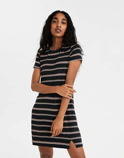 AE Side Slit T-Shirt Dress