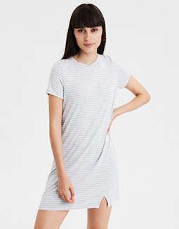 1bd47a46 placeholder image AE Side Slit T-Shirt Dress ...