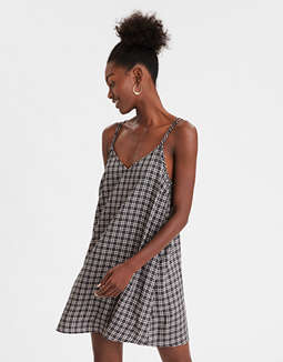 AE Plaid Slip Dress