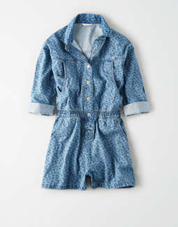 AE Denim Coverall Dress