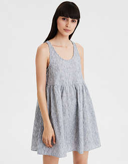 AE Striped Babydoll Dress
