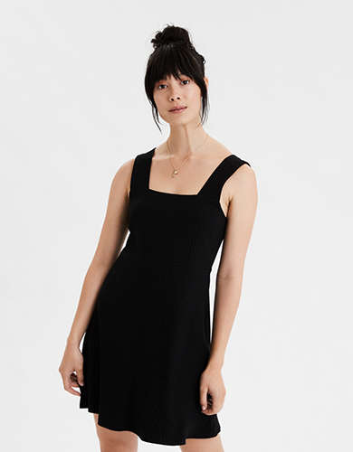 AE Knit Square Neck Dress