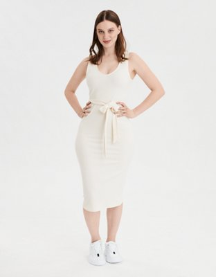 Ae Knit Midi Dress by American Eagle Outfitters