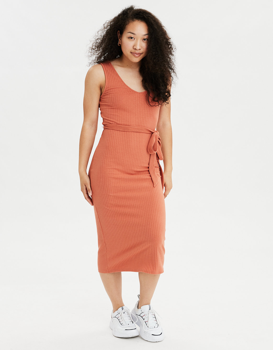 AE Knit Midi Dress